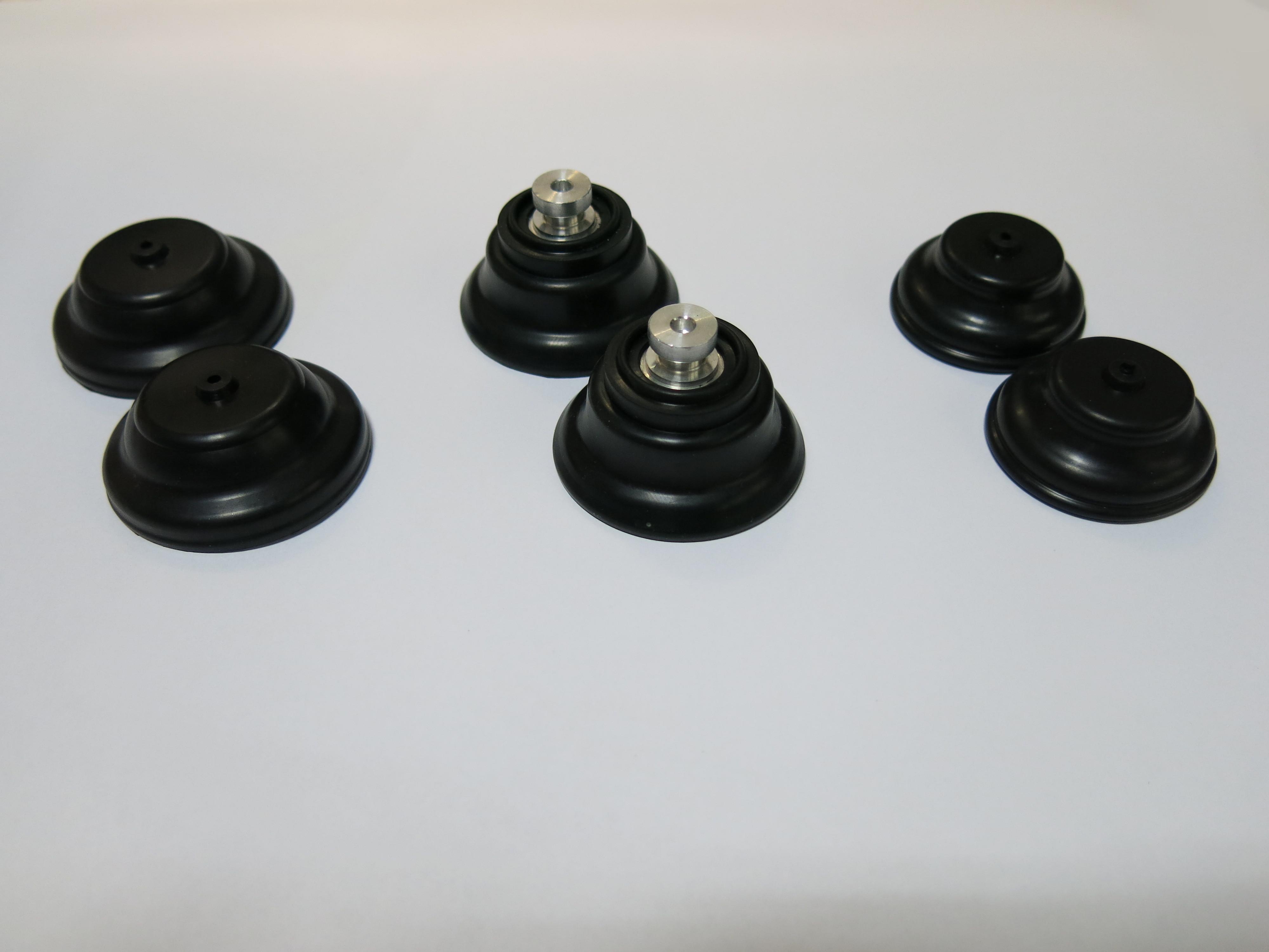 Gummimembranen für Unterdruckdosen der Zentralverriegelung